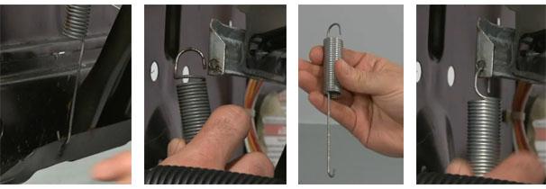 Фиксирующие пружины стиральной машины
