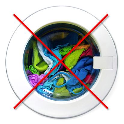 Не храните грязное белье в барабане